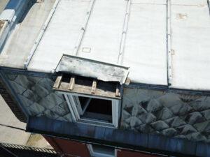 détection fuite toitures zinc
