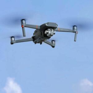Recherche de fuites d'eau par drone